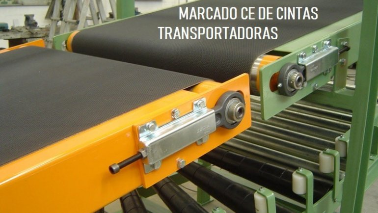 MARCADO CE DE CINTAS TRANSPORTADORAS