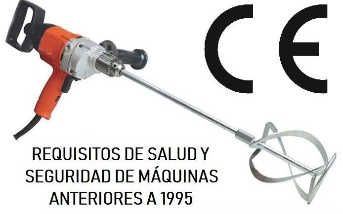 REQUISITOS MÍNIMOS DE SEGURIDAD DE MÁQUINAS Y EQUIPOS DE TRABAJO ANTERIORES A 1995