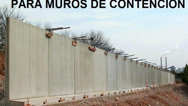 MARCADO CE DE ELEMENTOS PARA MUROS DE CONTENCIÓN
